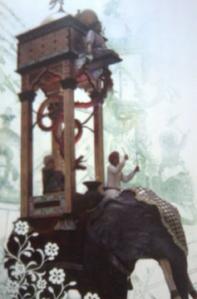 Replika jam gajah
